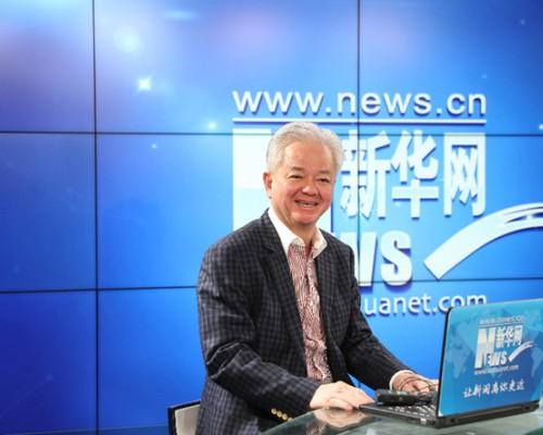 古润金:中国是我的根 完美要扎根中国回馈社会