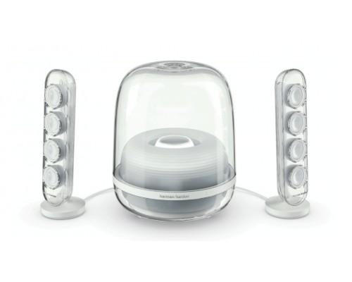 哈曼卡顿SOUNDSTICKS4全新一代无线水晶蓝牙音箱发布