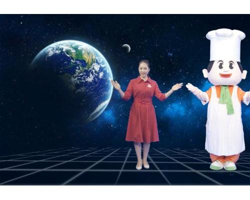 未来已来,5G加持下的太空美食家