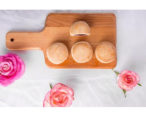 花miao全玫瑰窖藏一年花酱入馅,做云南人真正好鲜花饼?
