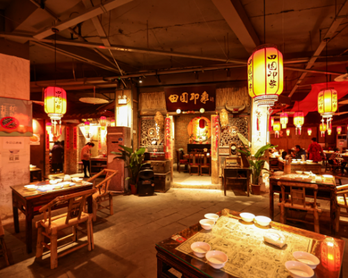 四川成都餐厅 用传统民俗让蓉漂过年别具温情