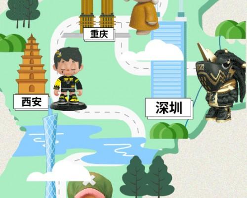 潮玩品牌TOP TOY深圳二店开业 沉浸式潮玩体验又上新台阶
