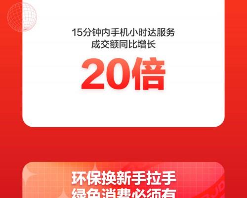 有责任的绿色消费:京东618手机以旧换新用户数同比增长342%
