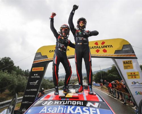 三线作战 现代汽车包揽三项国际顶级赛事冠军